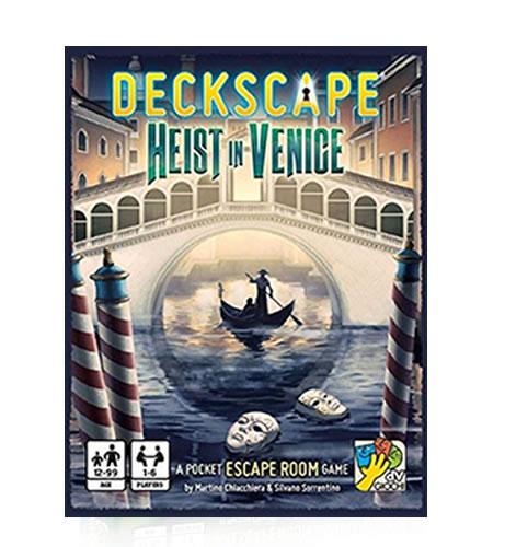 Card Games DaVinci Games Deckscape – Heist in Venice SW